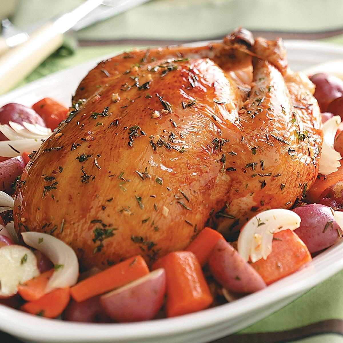 Roasted Chicken With Rosemary Recipe