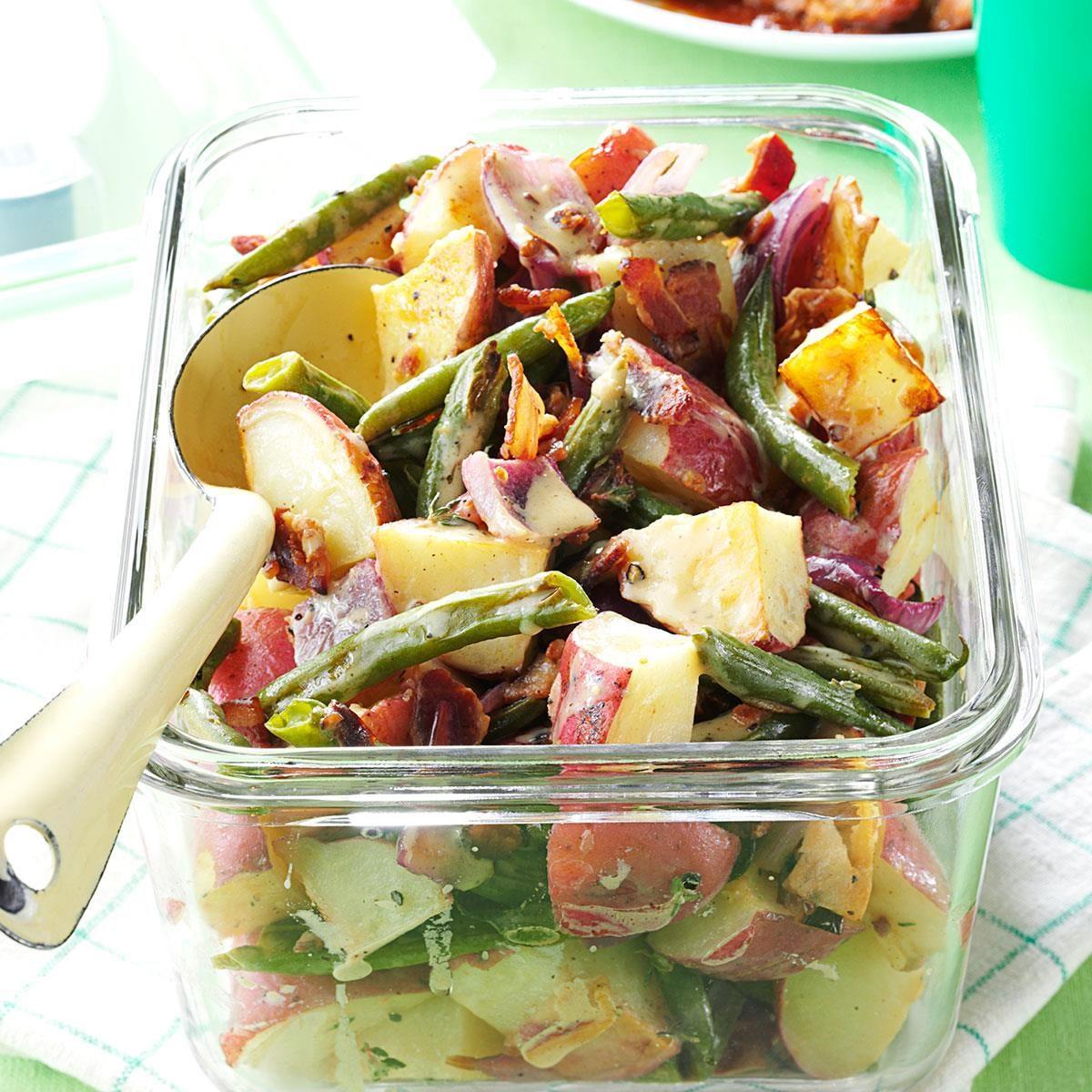 Roasted Potato & Green Bean Salad Recipe | Taste of Home