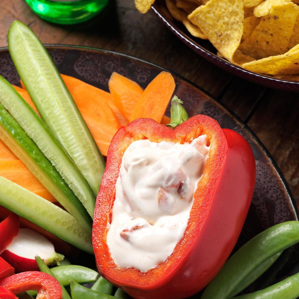 Roasted Red Pepper Dip Recipe | Taste of Home