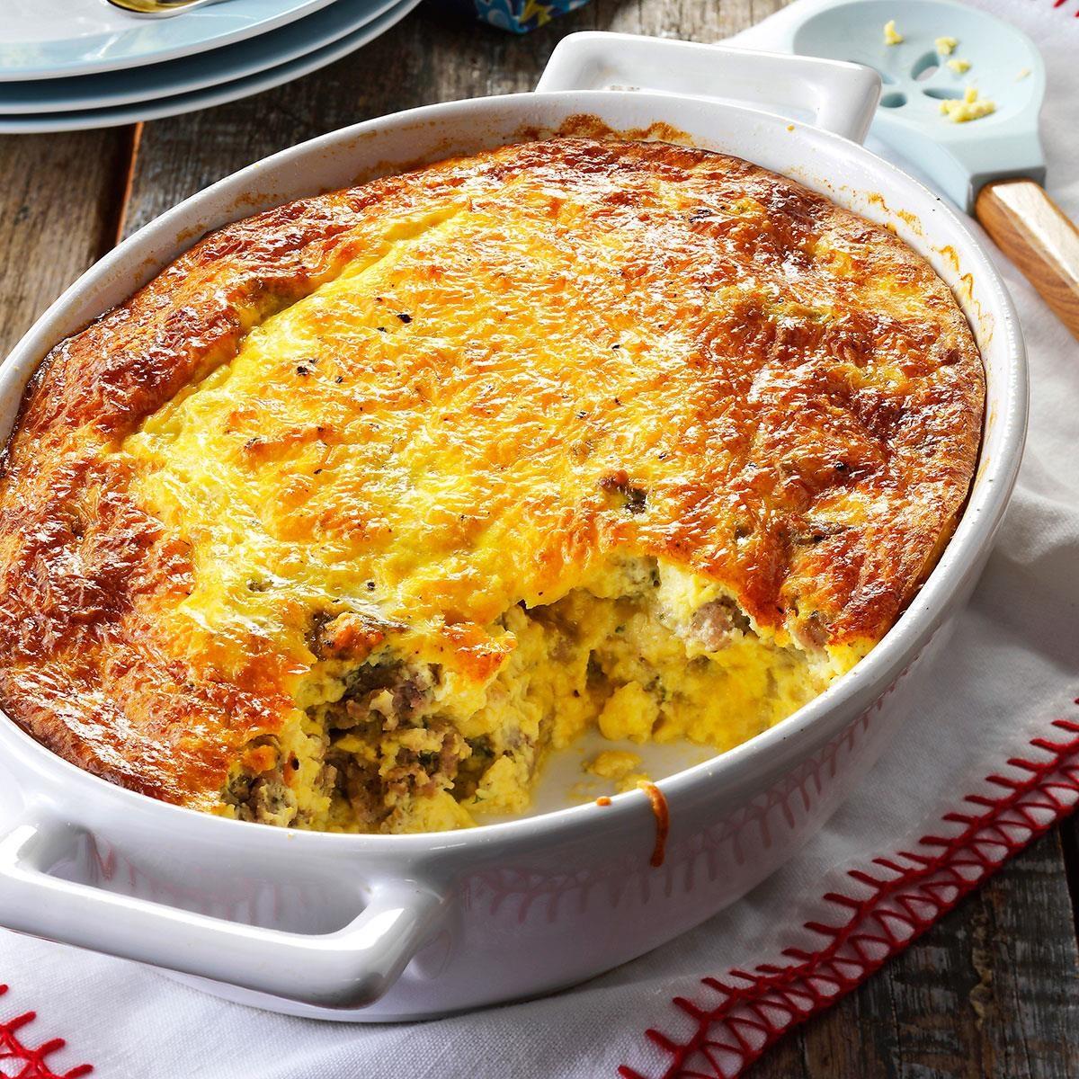 Do Ahead Egg And Sausage Bake: Sausage Egg Bake Recipe