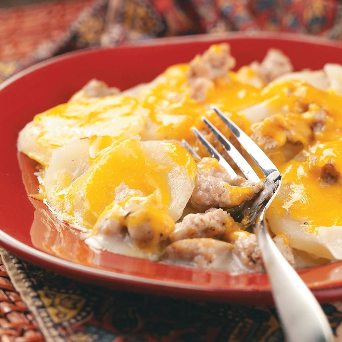Sausage Potato Casserole Recipe Taste Of Home
