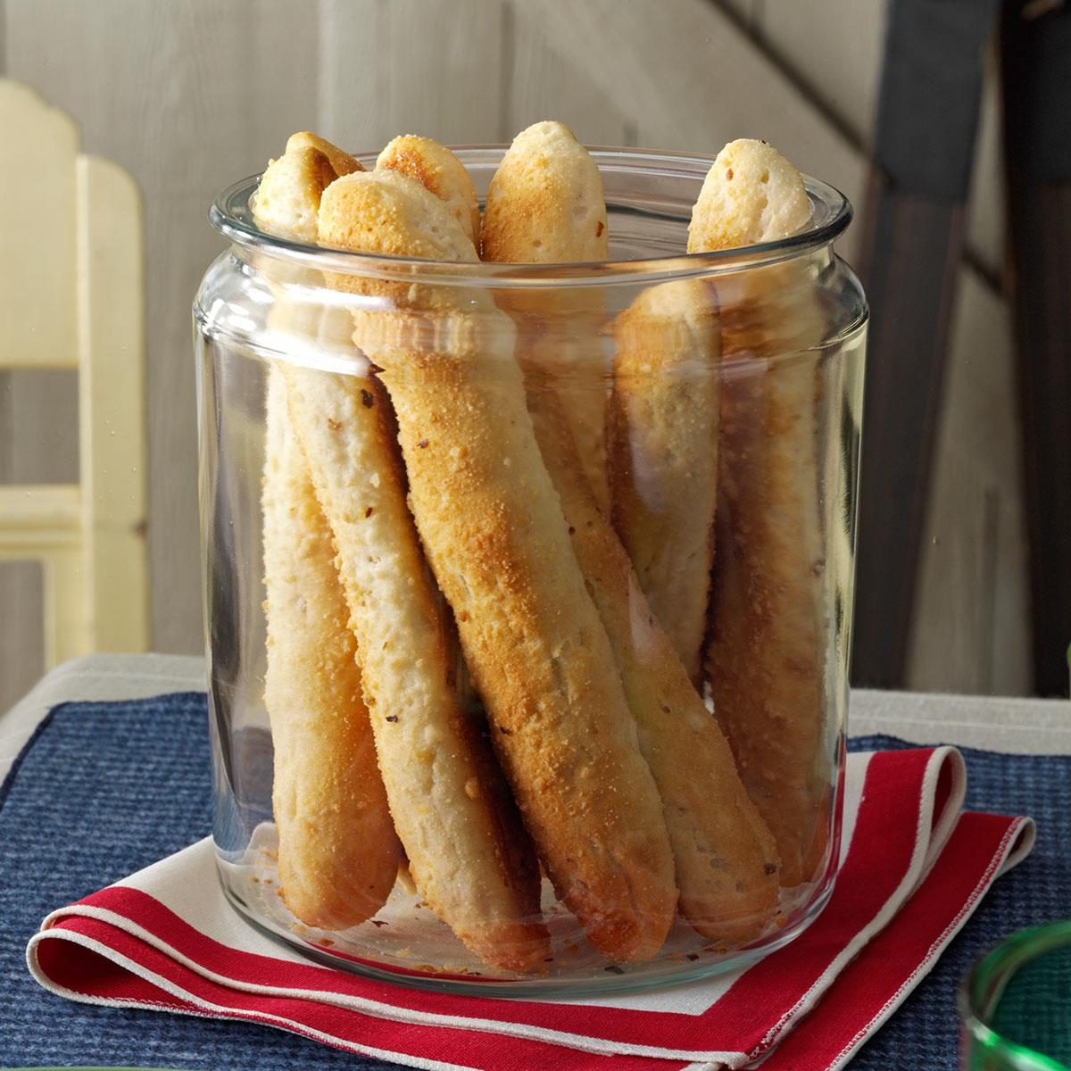 Savory Biscuit-Breadsticks Recipe