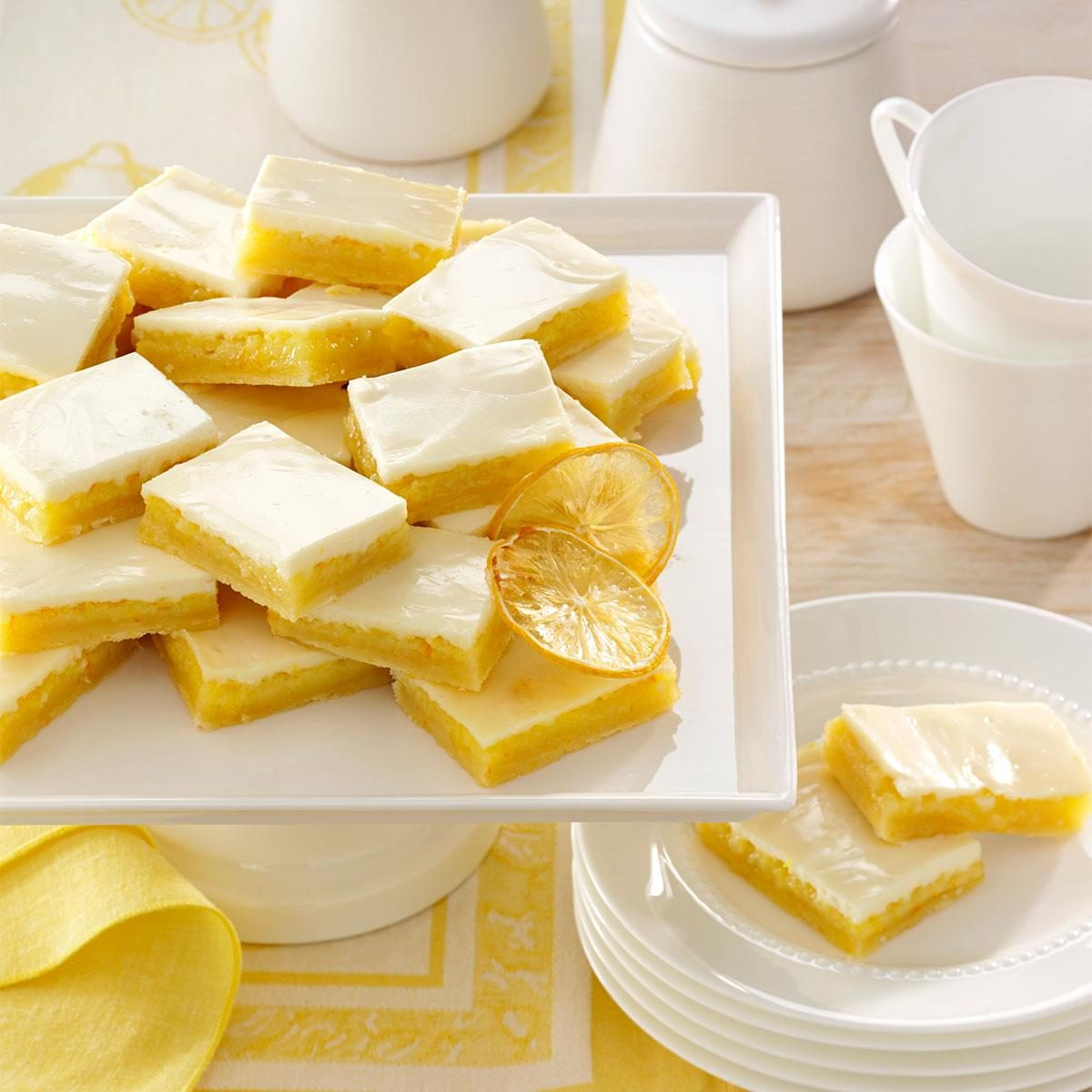 Shortbread Lemon Bars Recipe | Taste of Home