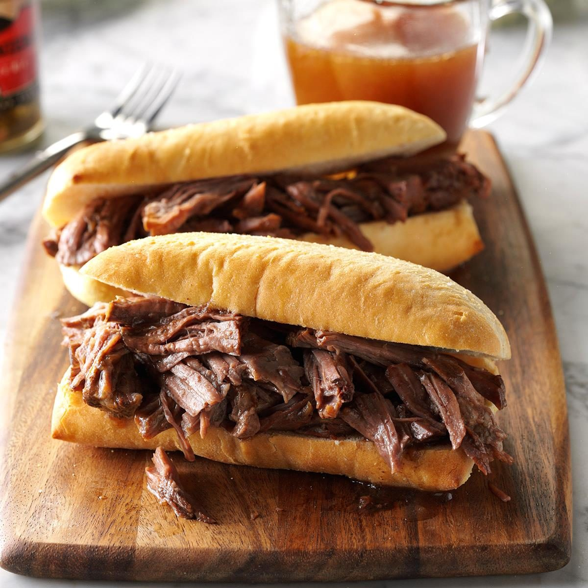 Shredded French Dip Recipe Taste Of Home