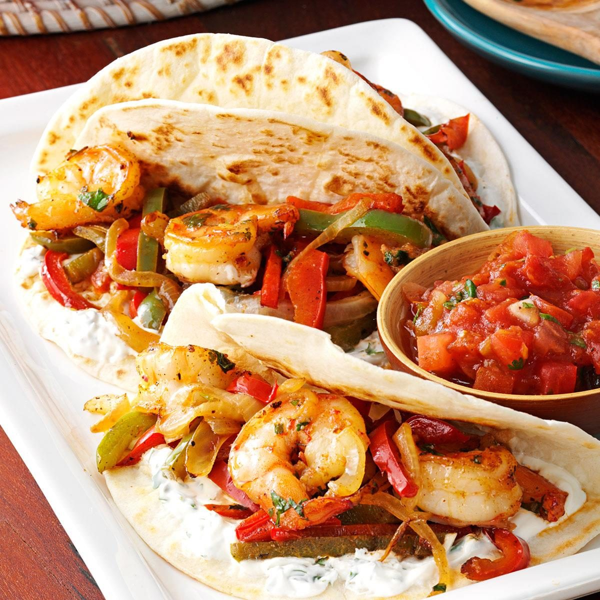 Shrimp Fajitas Recipe Taste Of Home
