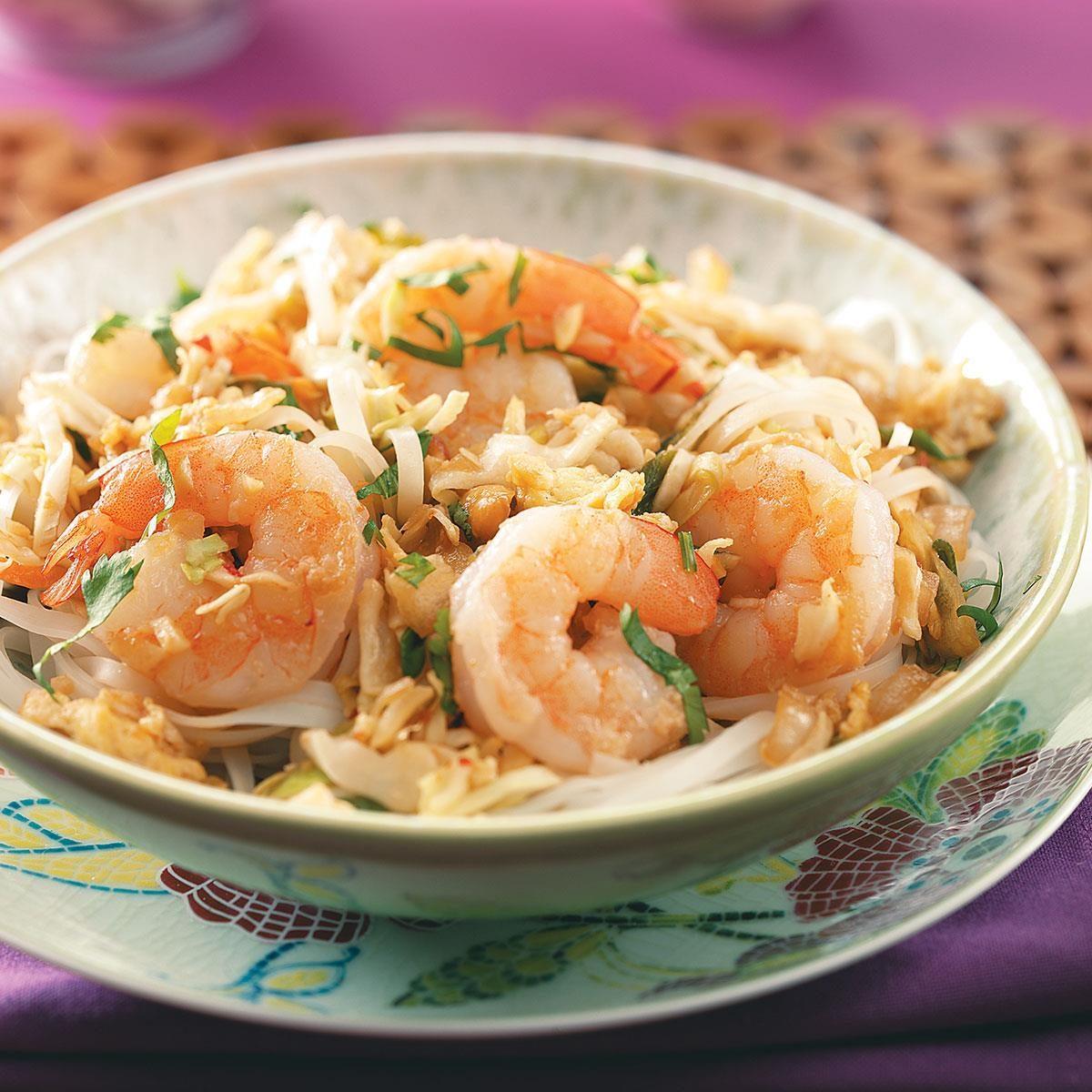 Shrimp Pad Thai Recipe | Taste of Home