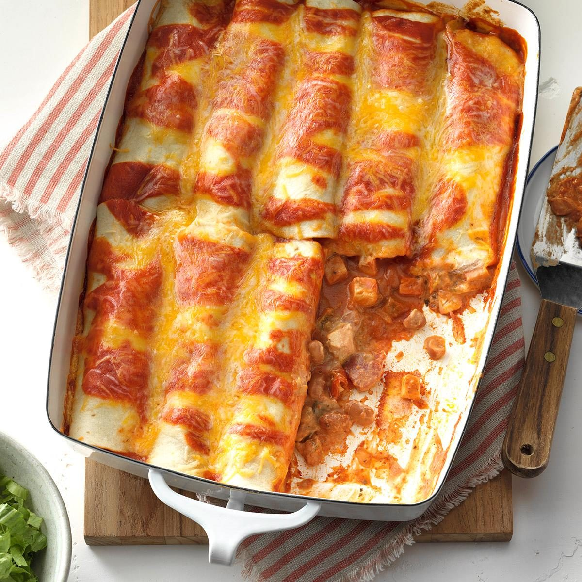 Chicken Enchiladas Recipe