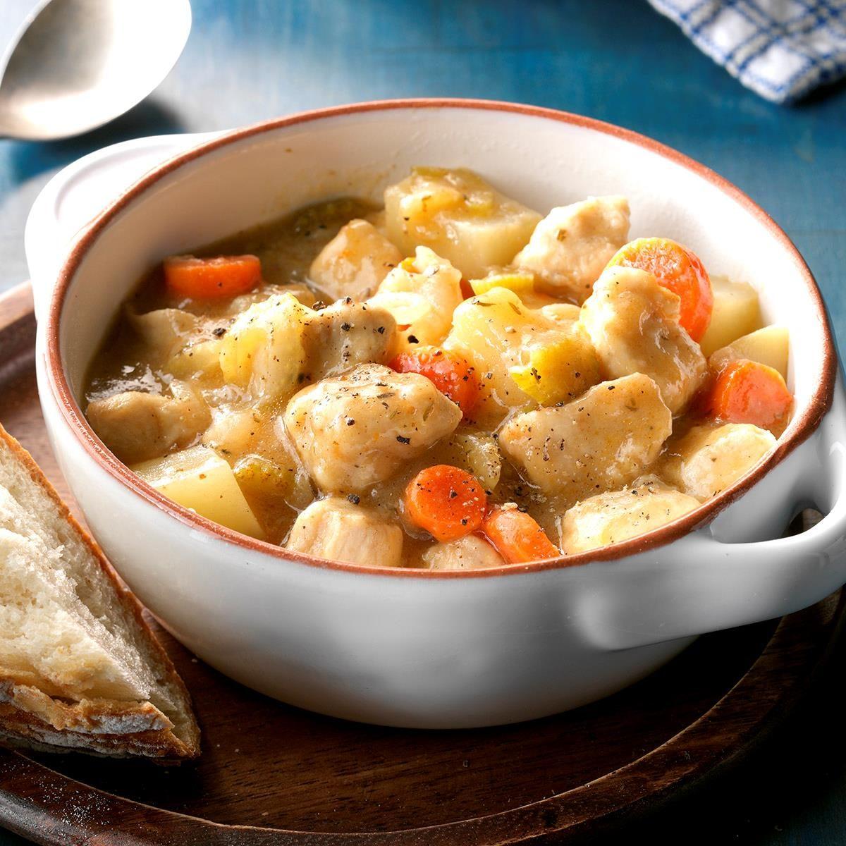 Skillet Chicken Stew Recipe Taste Of Home