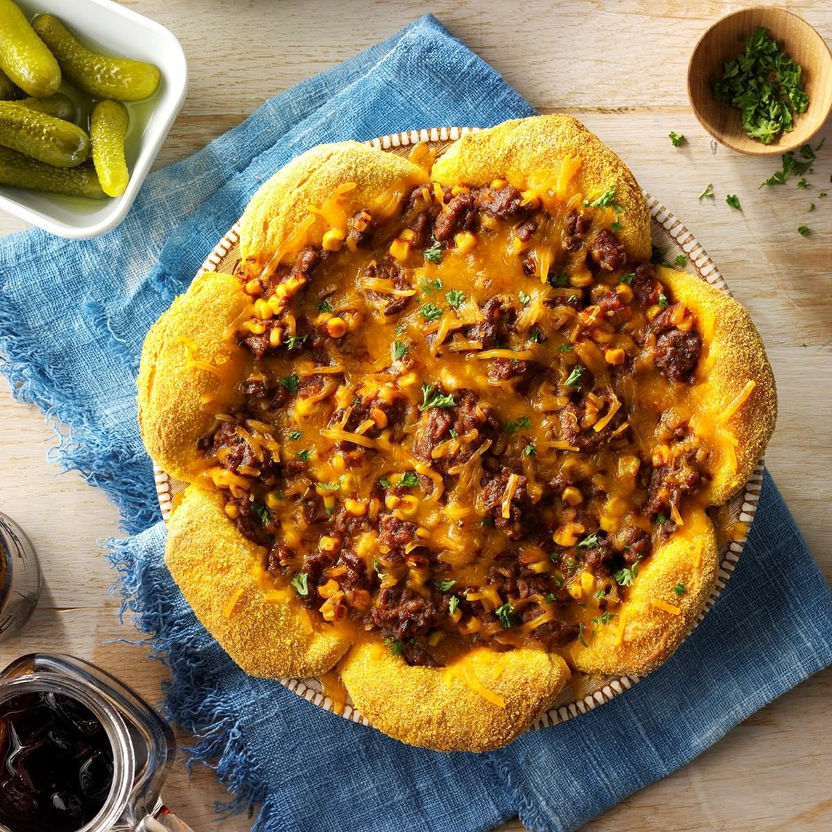 Sloppy Joe Pie Recipe Taste Of Home