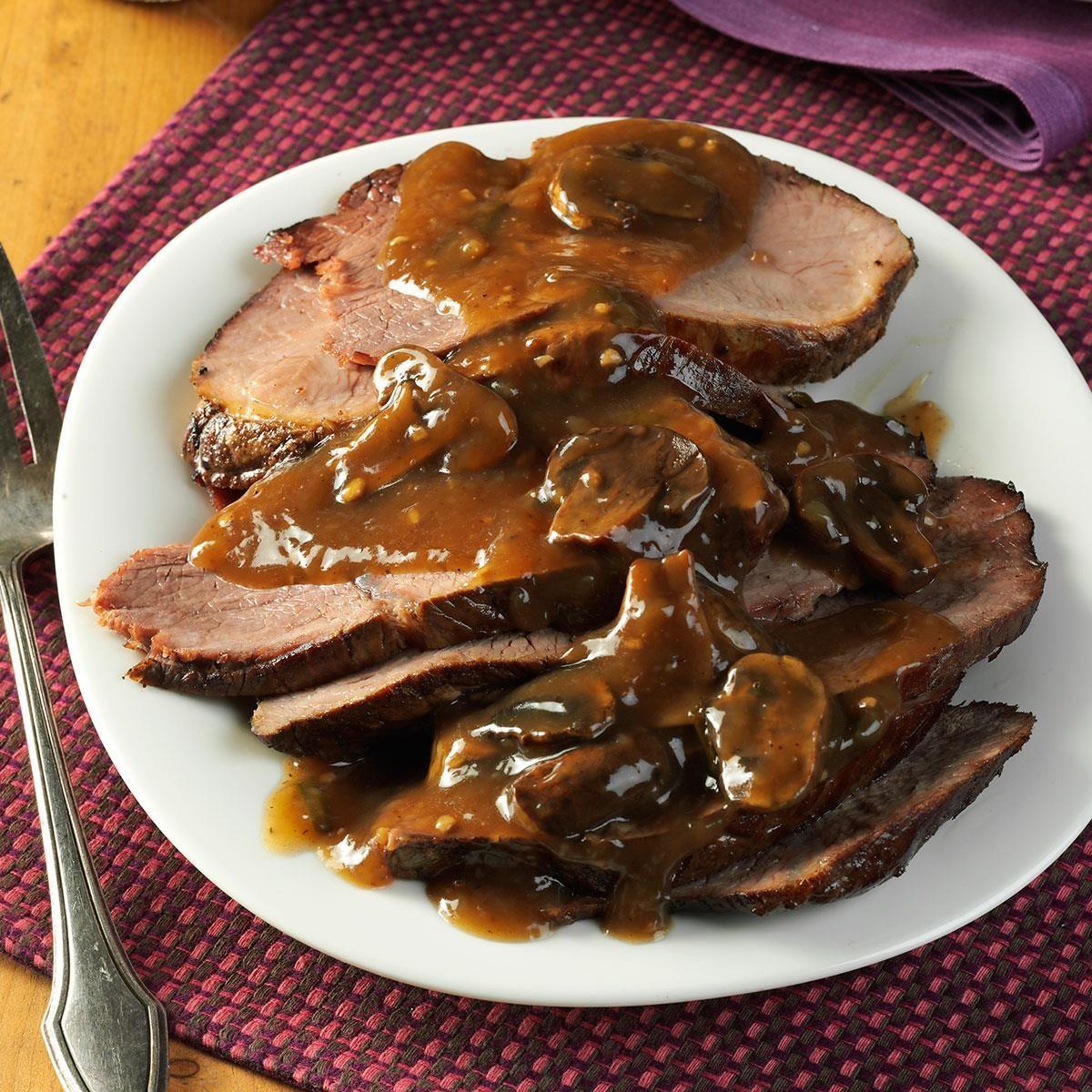 Slow-Cooked Coffee Beef Roast Recipe | Taste of Home
