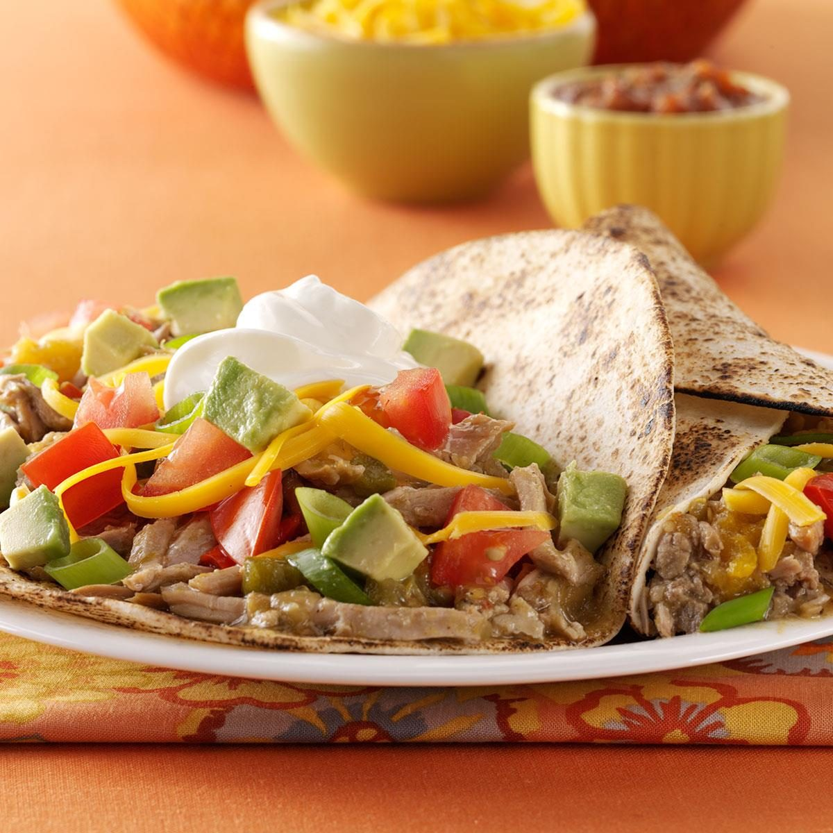 Slow-Cooked Pork Tacos Recipe | Taste of Home
