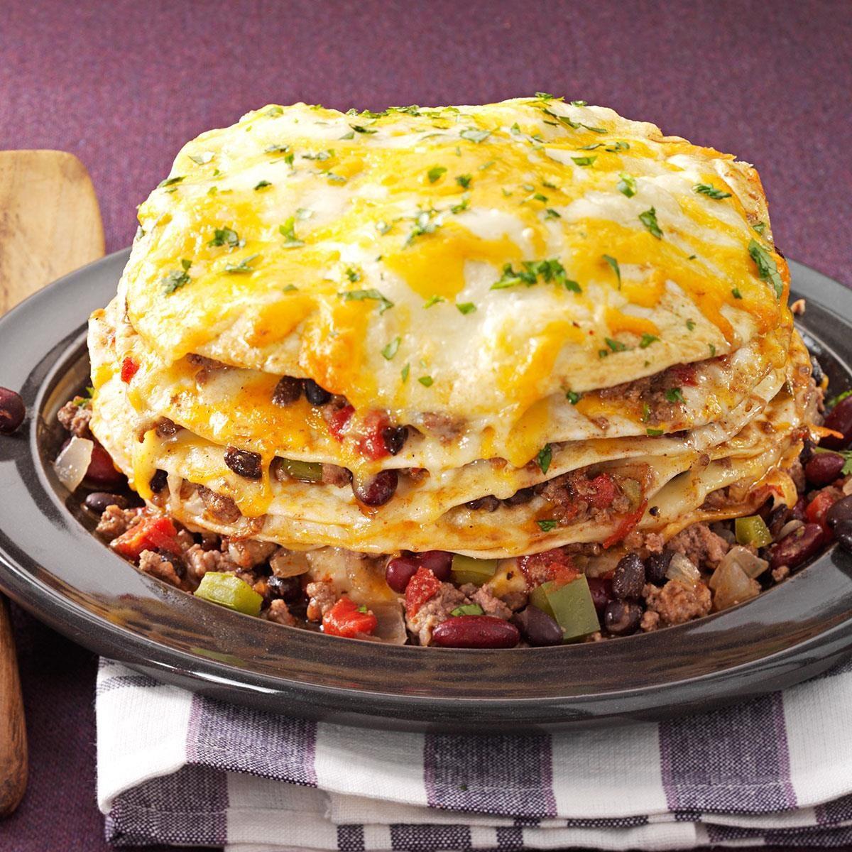 Slow Cooker Enchiladas Recipe | Taste of Home