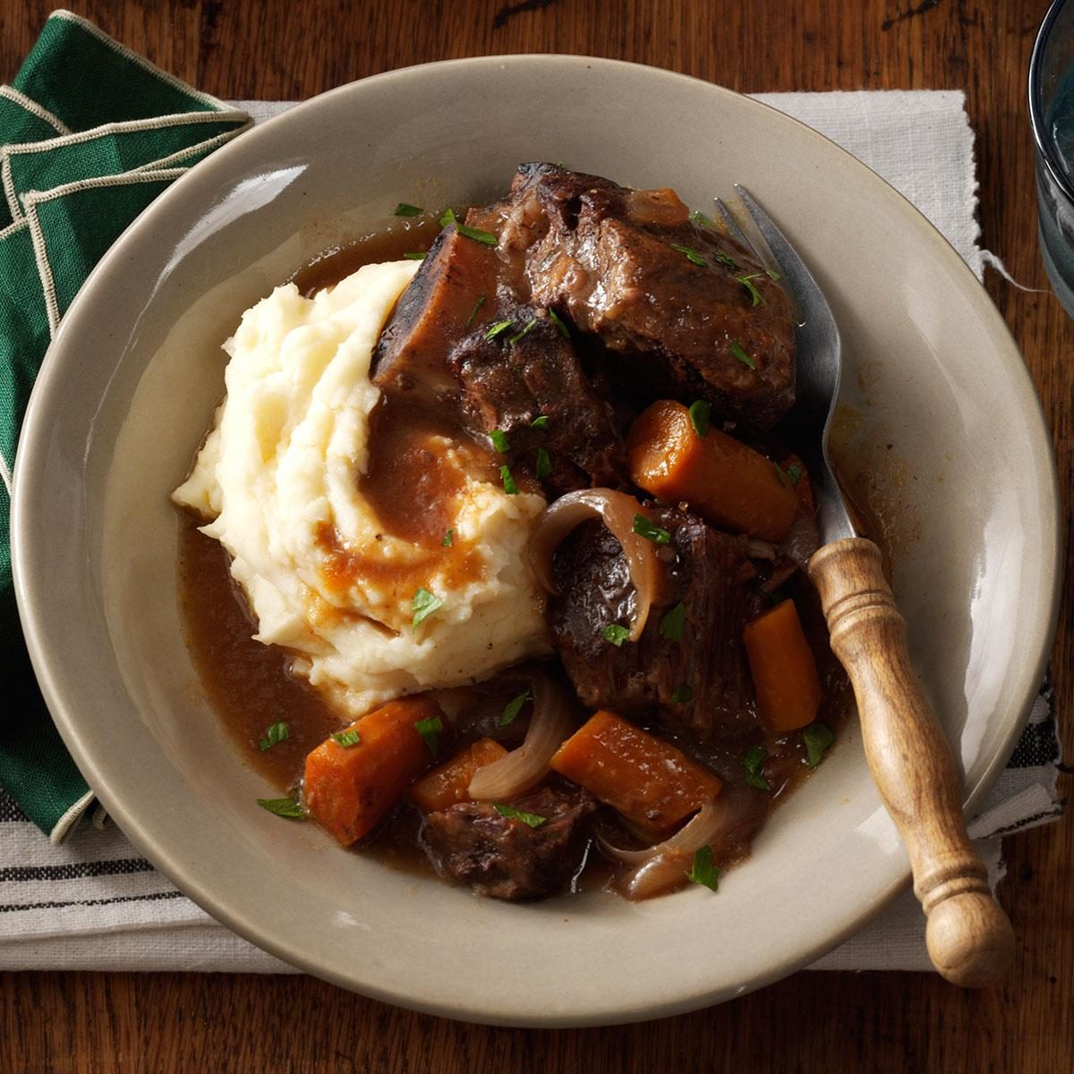 Http Www Tasteofhome Com Recipes Slow Cooker Short Ribs