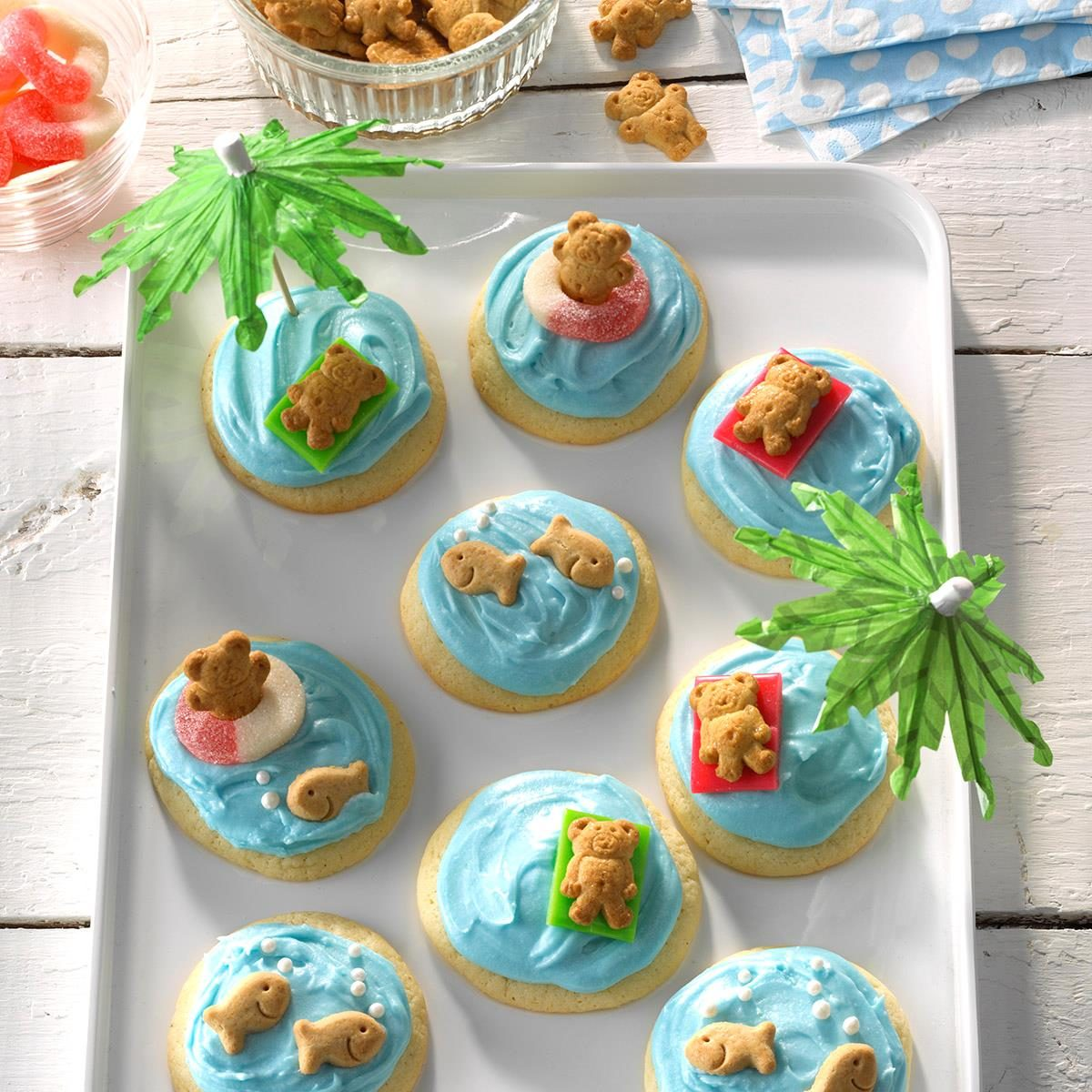 54 party ready recipes to try this summer taste of home soft sugar cookies forumfinder Image collections
