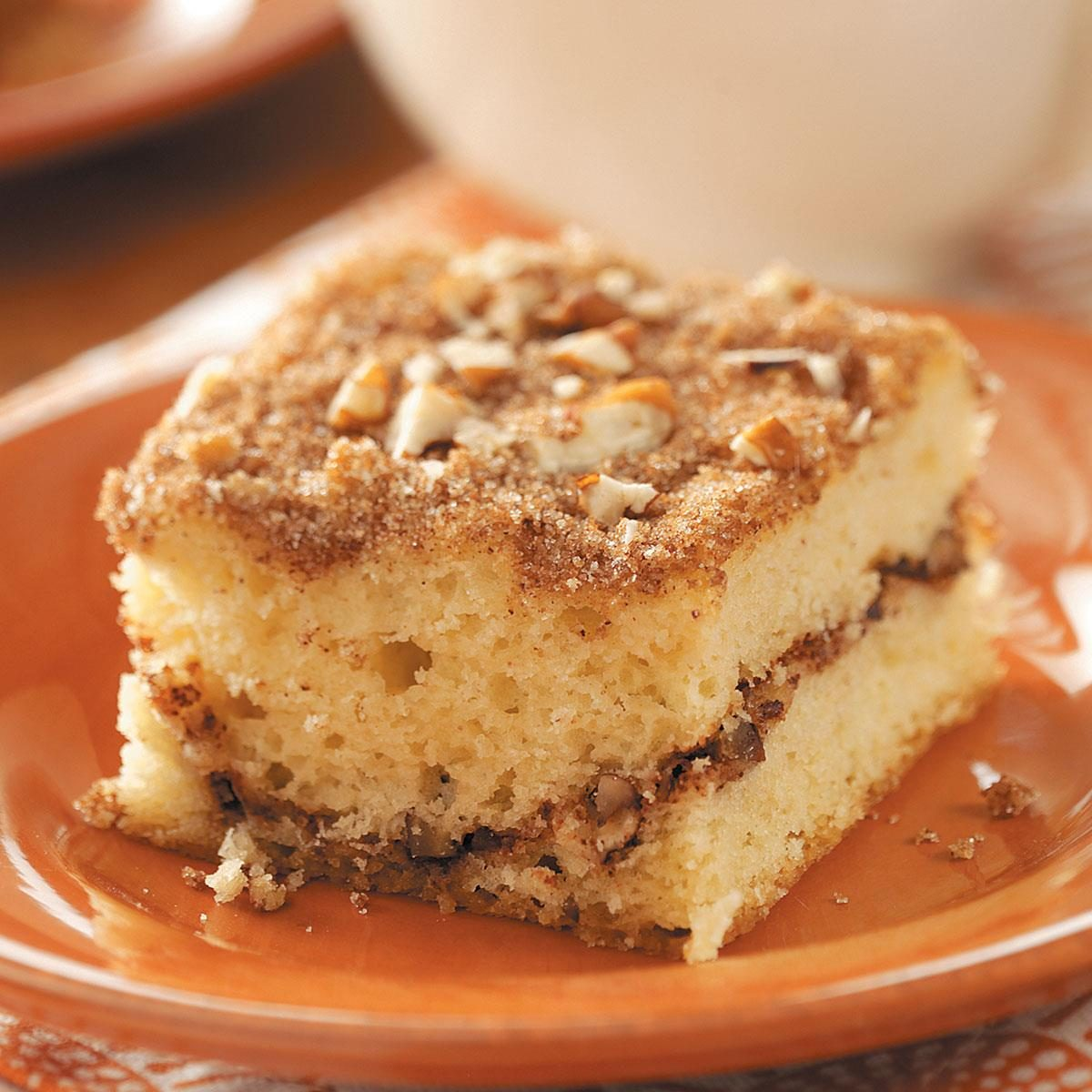 Sour Cream Pumpkin Coffee Cake Recipe