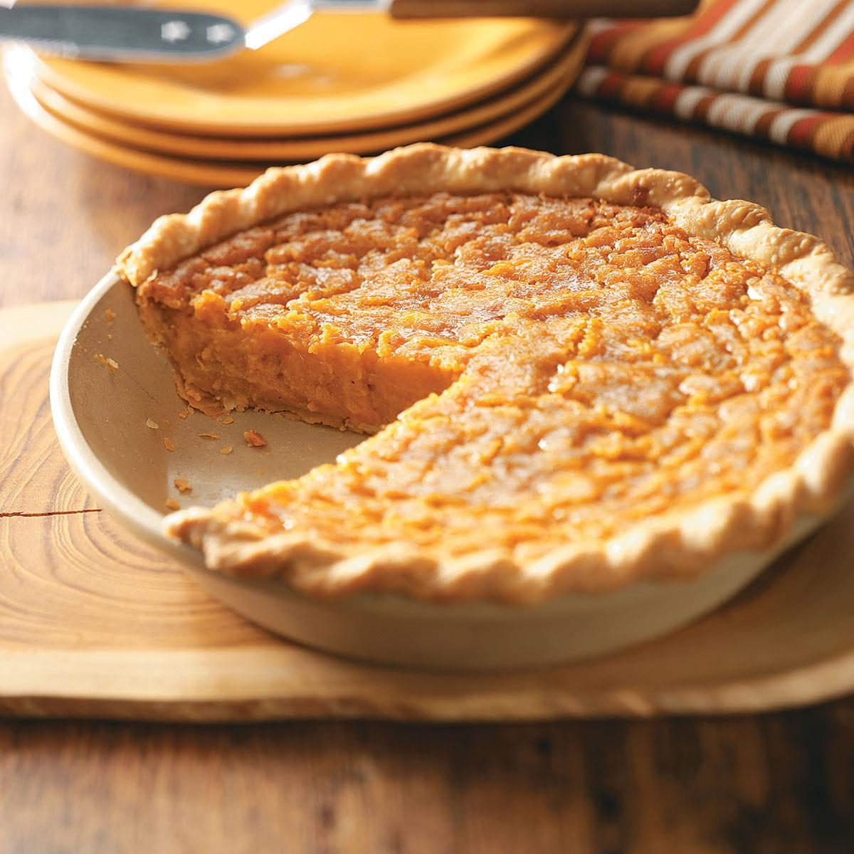 Southern Sweet Potato Pie Recipe | Taste of Home