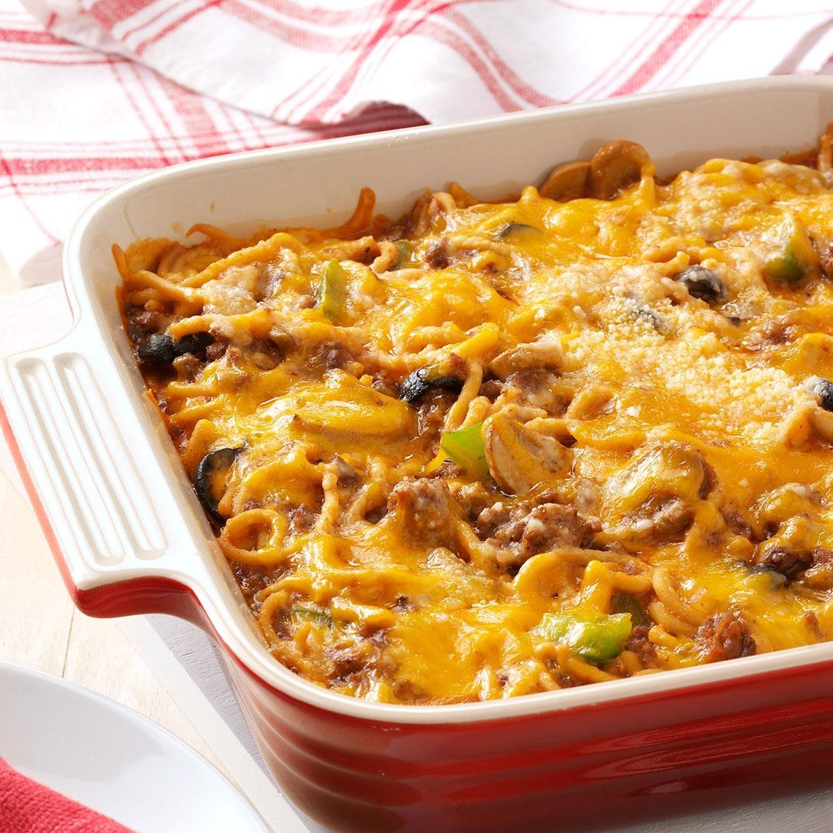 Spaghetti Casserole Bake Recipe