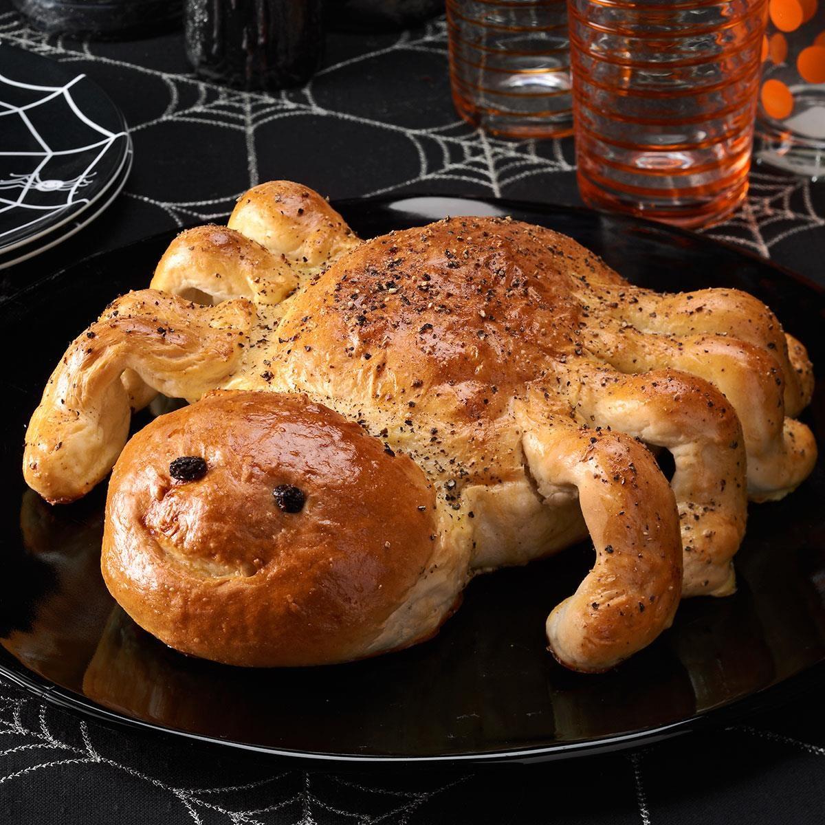 Super Bowl Appetizers Spider Bread Recipe Taste Of Home