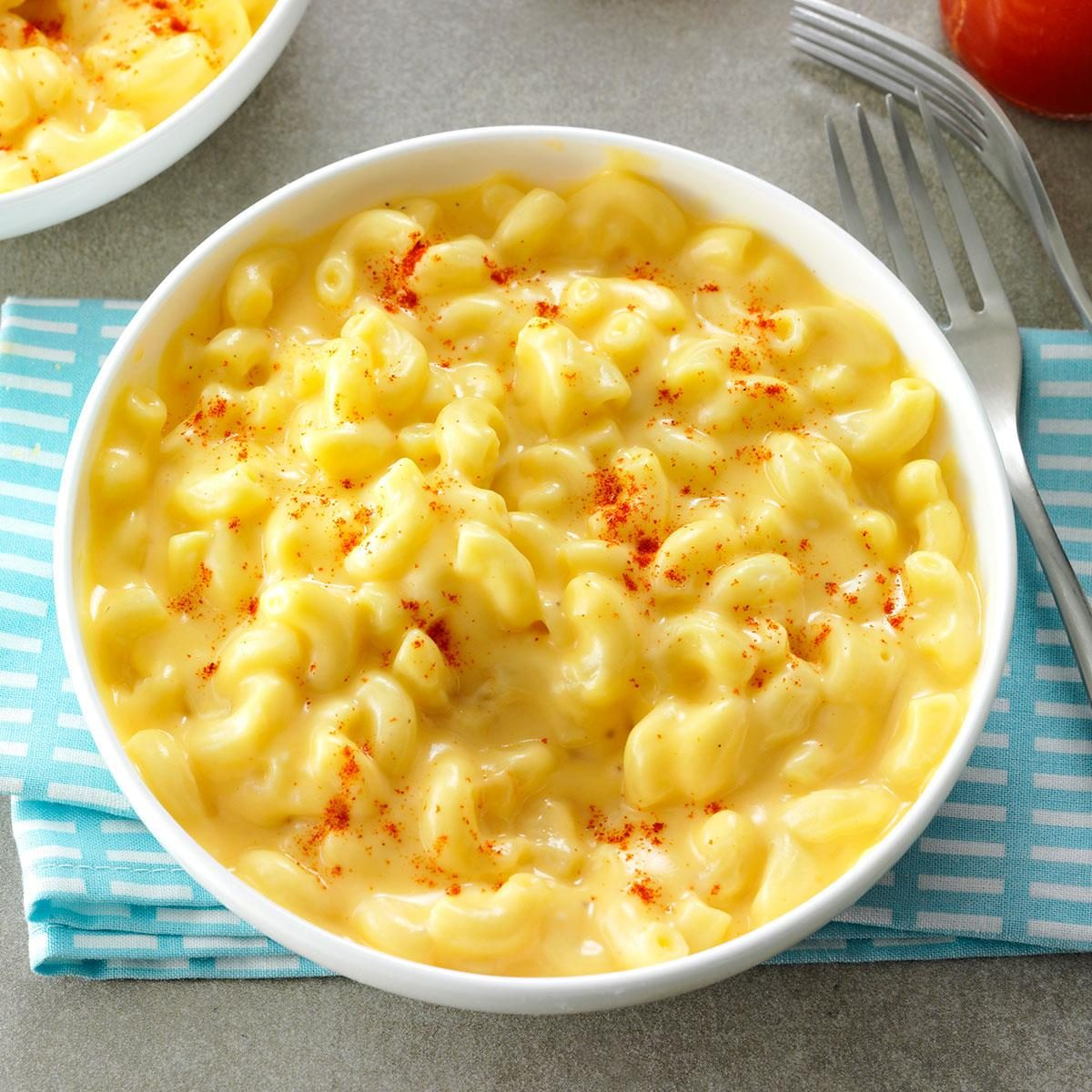 Stovetop macaroni and cheese recipe taste of home - Quince recipes for babies a healthy fall ...