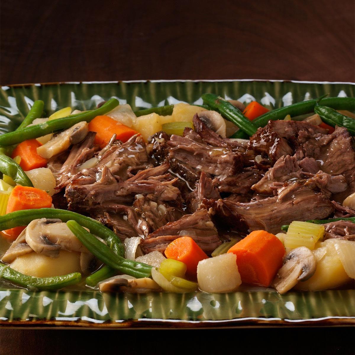 Stovetop Pot Roast Recipe Taste Of Home