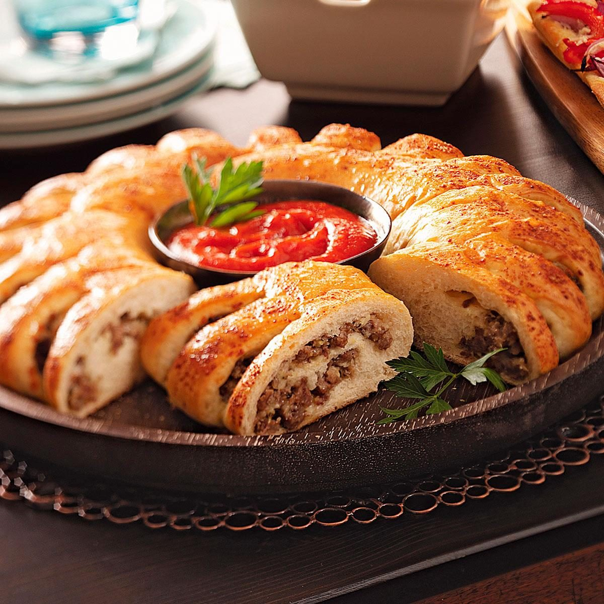 Stromboli Ring Recipe Taste Of Home