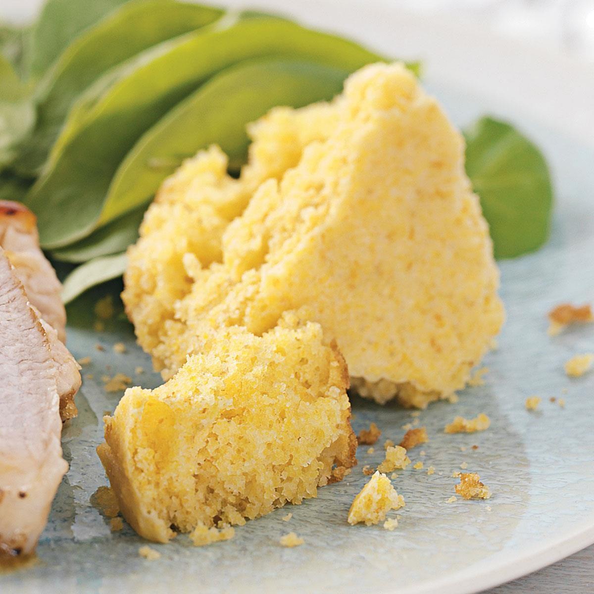 Tender Buttermilk Corn Bread Recipe | Taste of Home