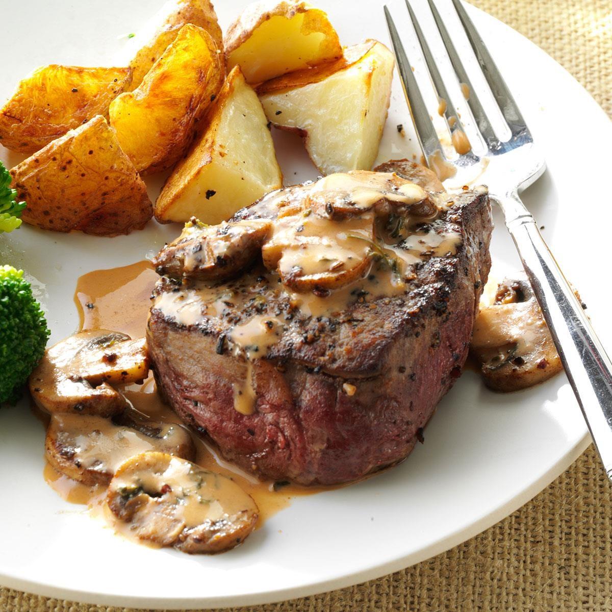 Tenderloin Steak Diane Recipe Taste Of Home