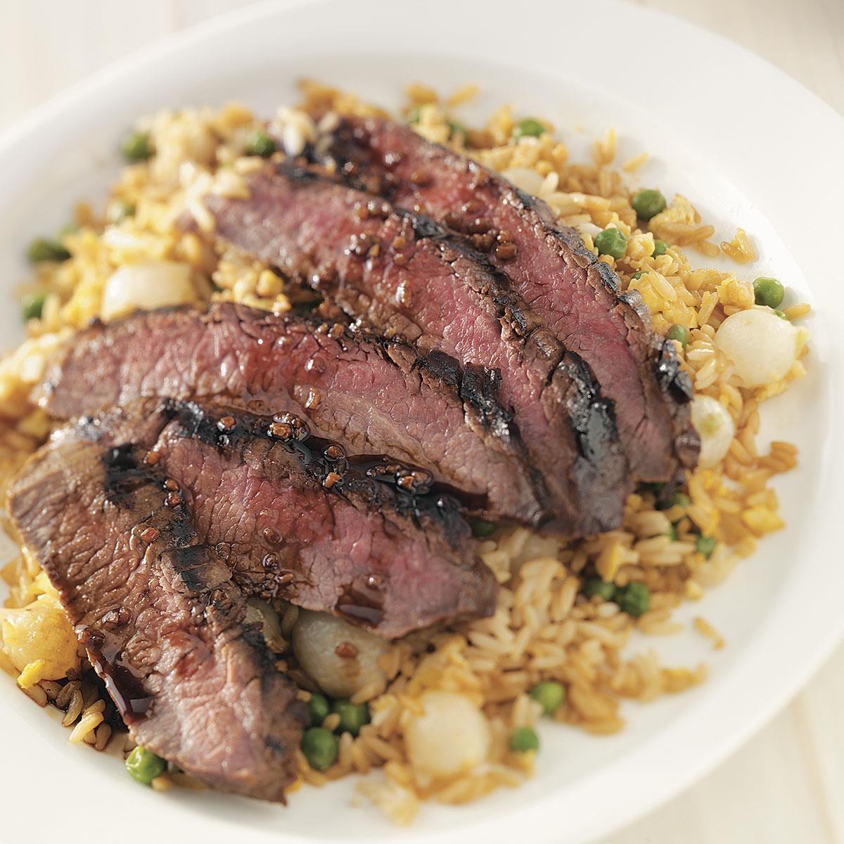 Teriyaki Steak Recipe | Taste of Home