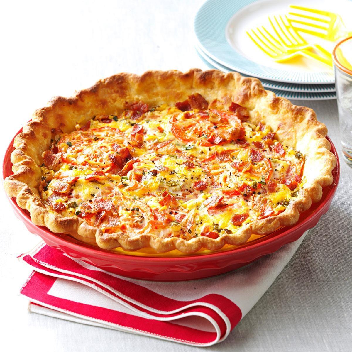 Tomato Pie Recipe | Taste of Home