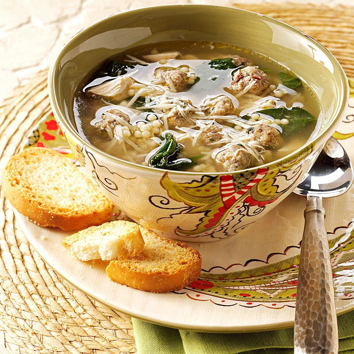 Traditional Italian Wedding Soup Recipe