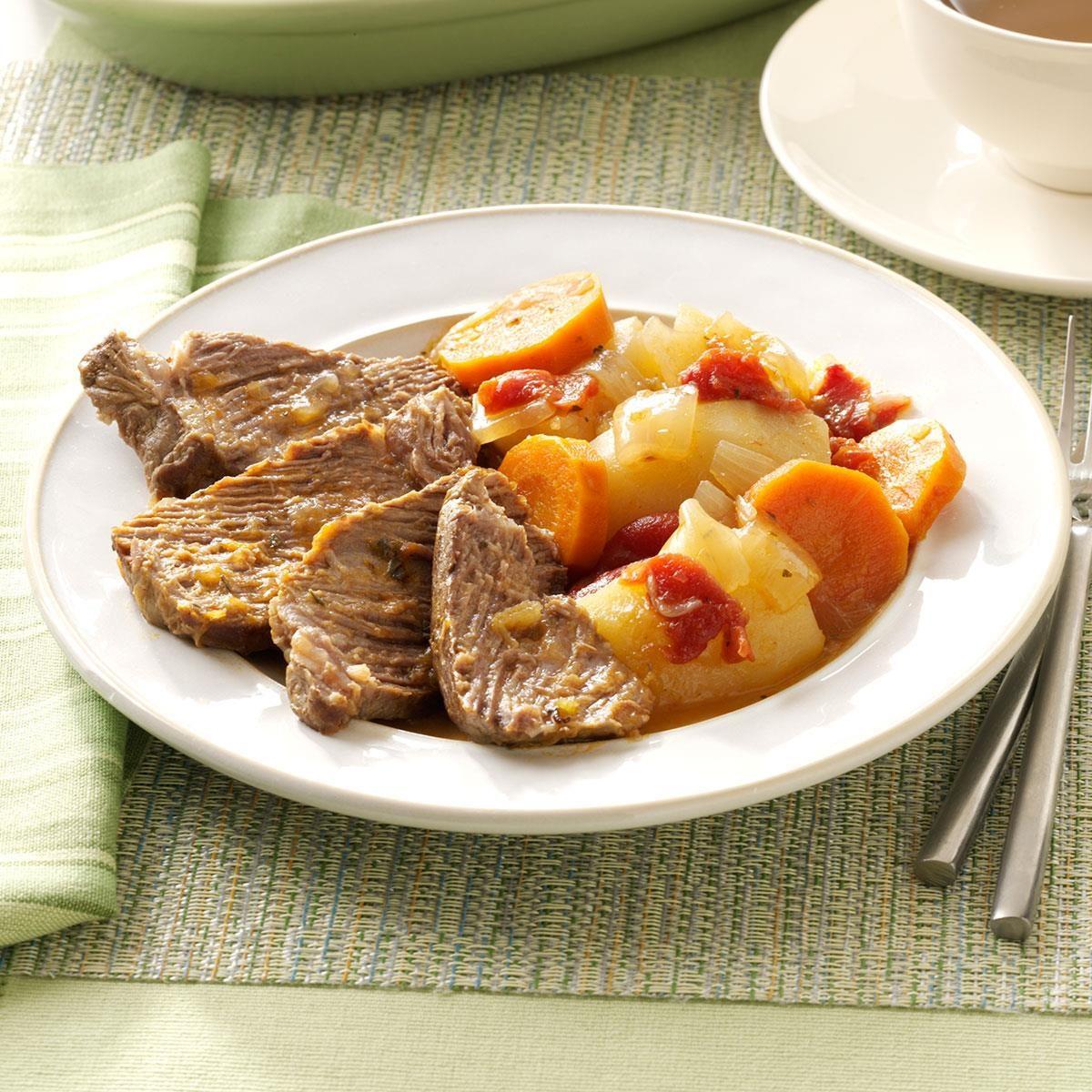 Traditional Yankee Pot Roast Recipe Taste Of Home