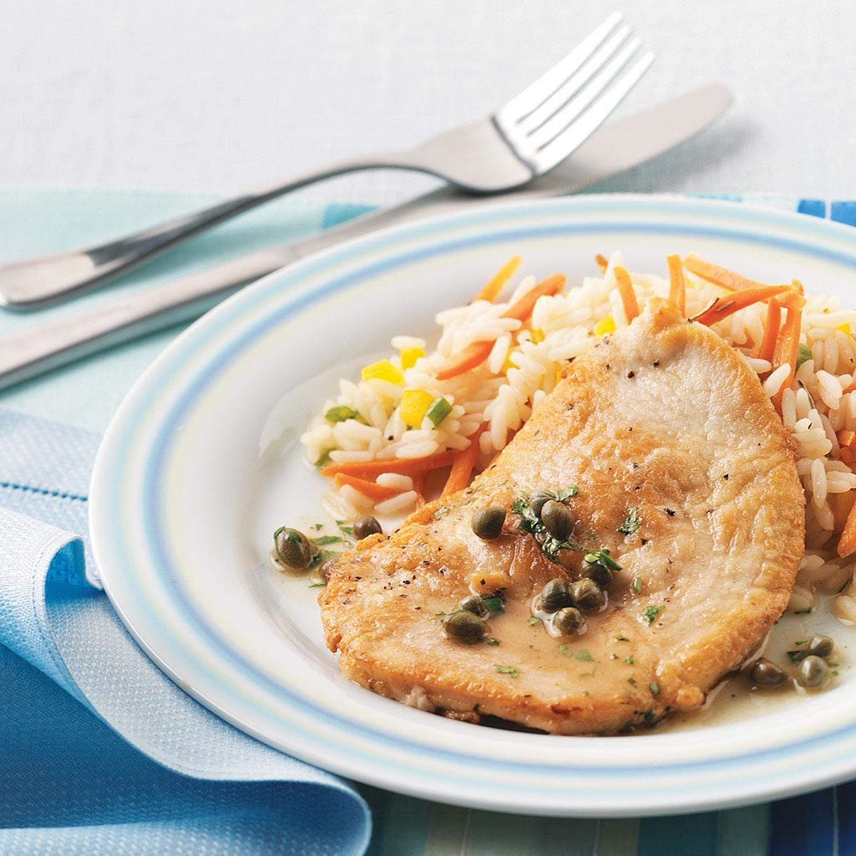 Easy turkey piccata recipe