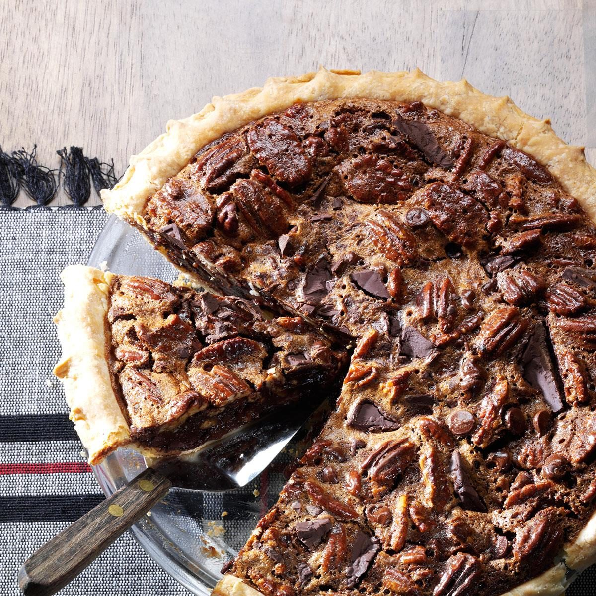 Chocolate Pecan Pie | Taste of Home