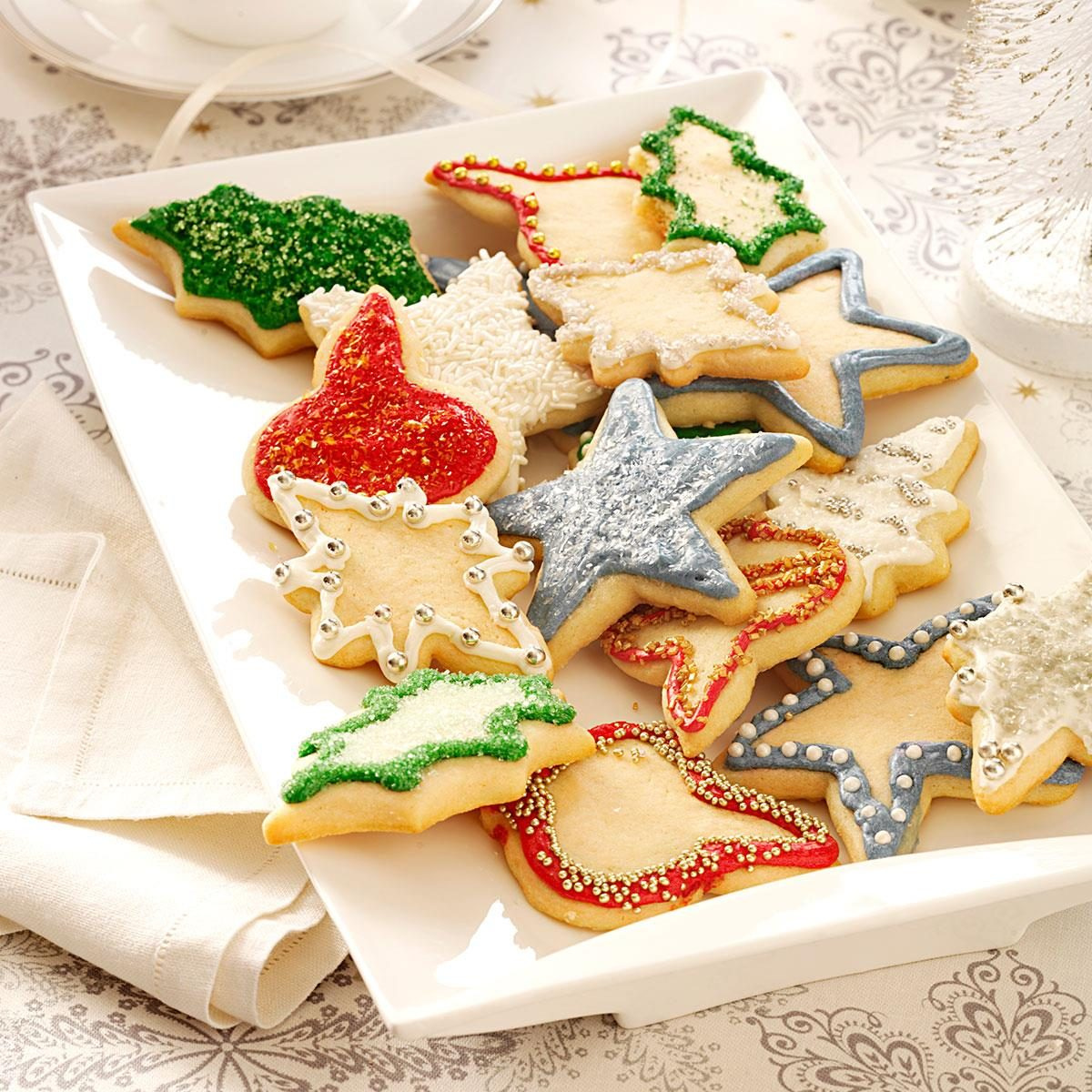 Crisco christmas sugar cookie recipe