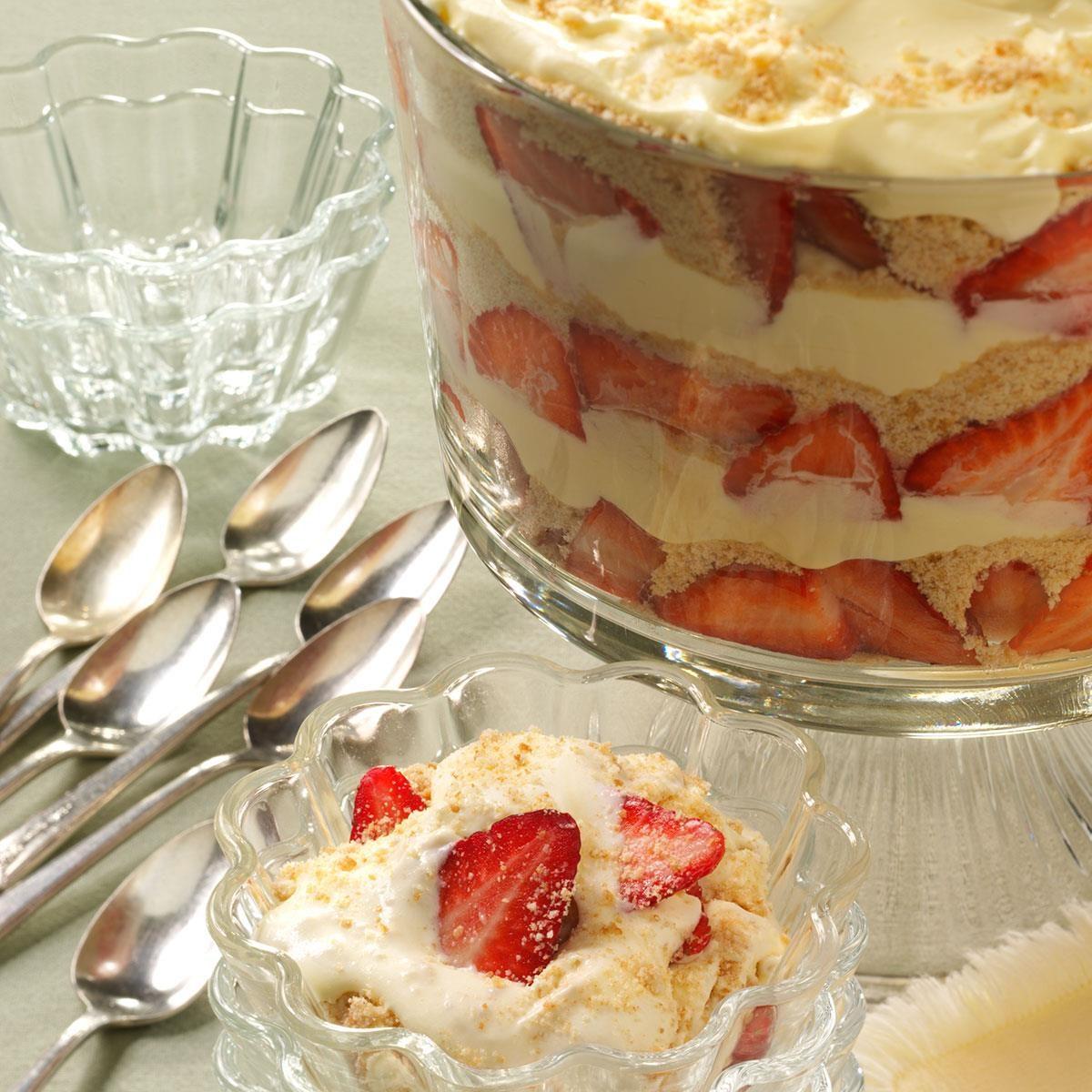 Vanilla Pudding Dessert Recipe Taste Of Home