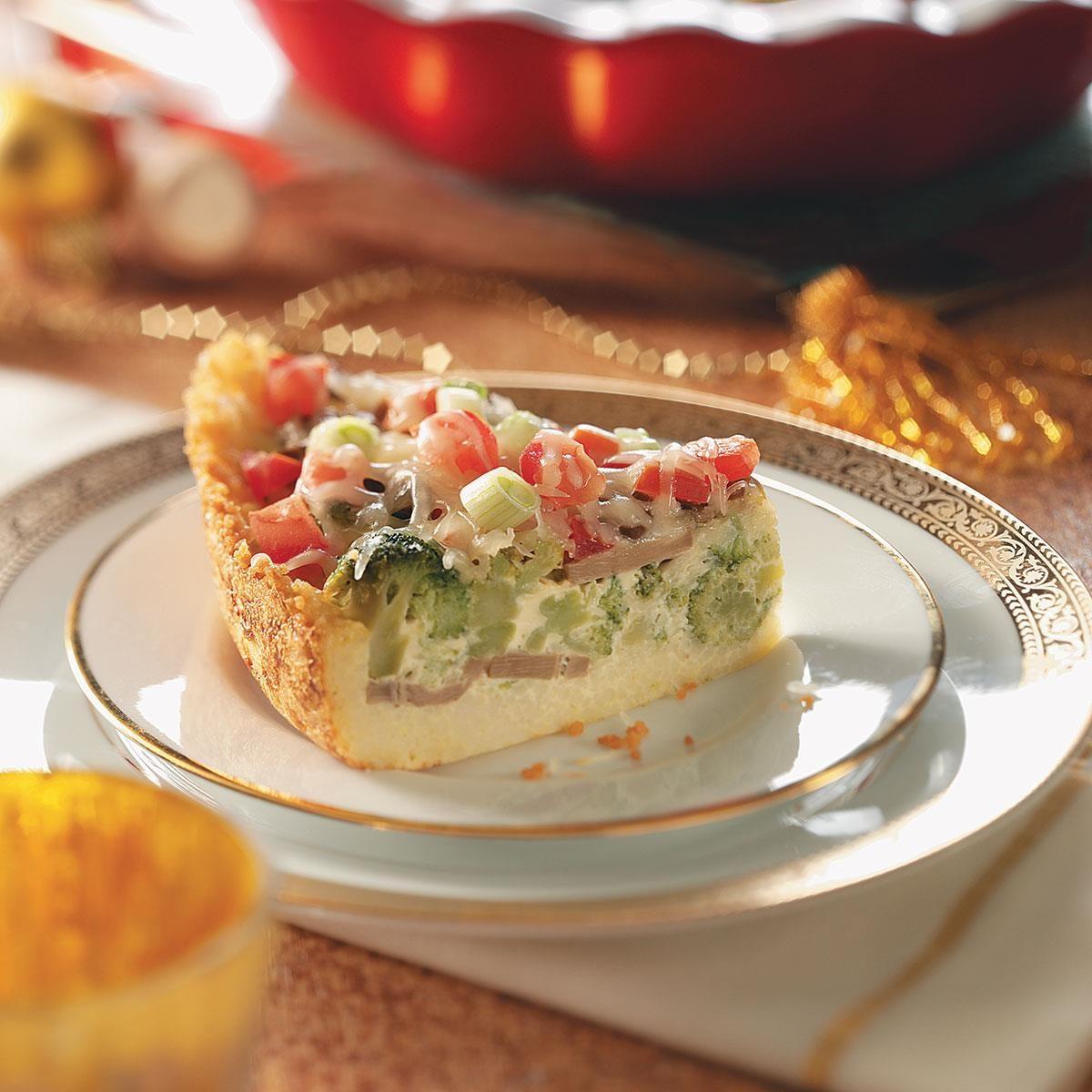 Veggie Couscous Quiche Recipe