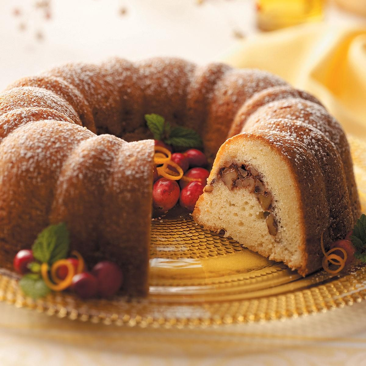Taste Of Home Creamy Cranberry Coffee Cake