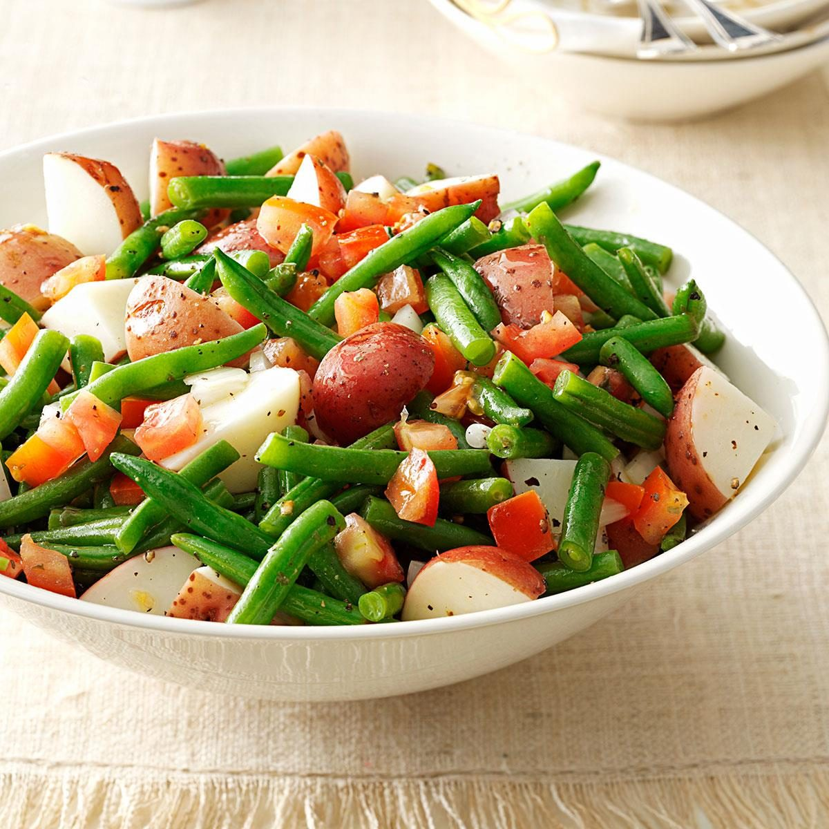 Warm Green Bean & Potato Salad Recipe | Taste of Home