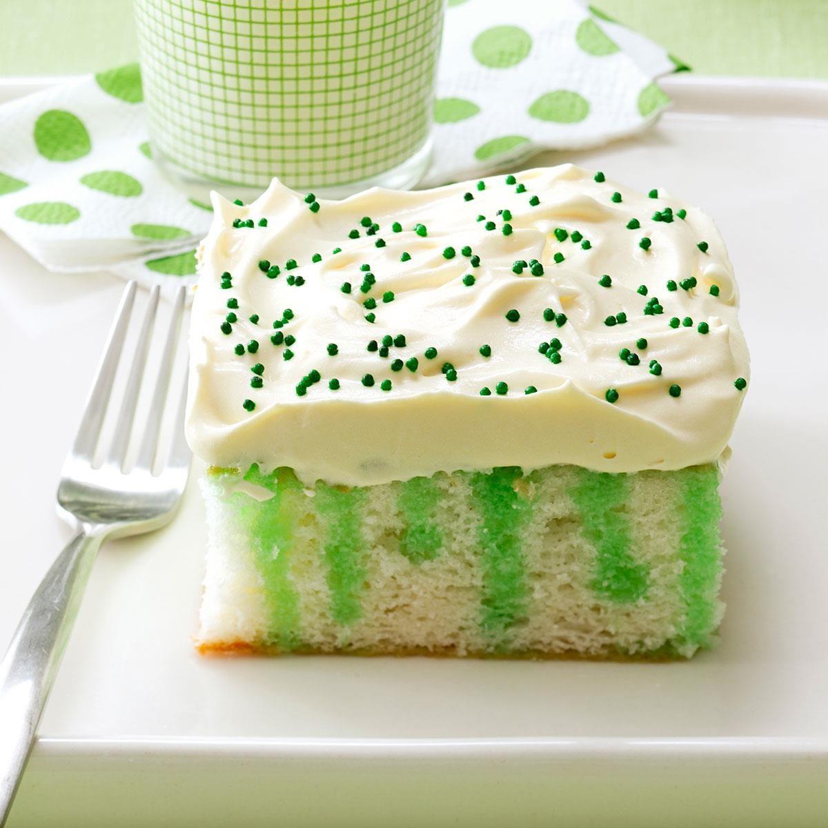 wearing o u0027 green cake recipe taste of home