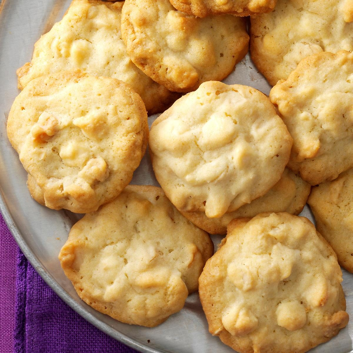 White Chocolate Macadamia Cookies Recipe Taste Of Home