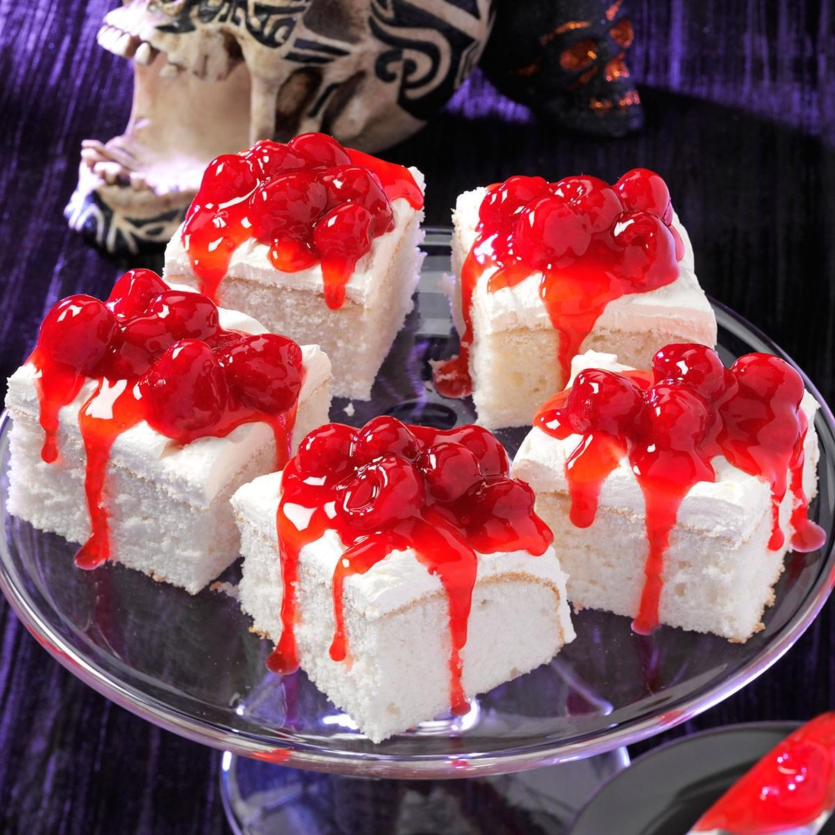 strawberry glaze for cake white fright cake recipe taste of home 7752