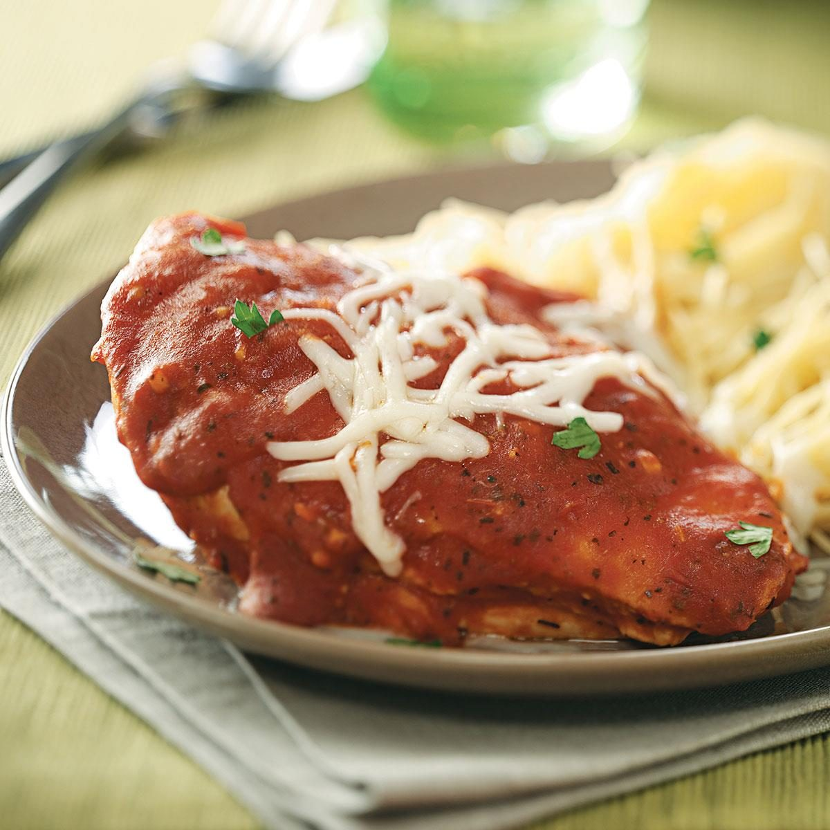 Zesty Chicken Marinara Recipe | Taste of Home
