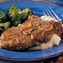 Cubed Steaks with Gravy Photo