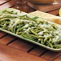 Beans with Parsley Sauce