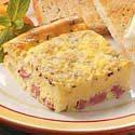 Ham 'n' Cheese Squares