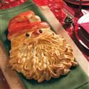 Golden Santa Bread Photo