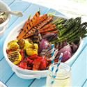 Grilled Vegetable Platter Photo