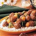 Tangy Sweet-and-Sour Meatballs Photo