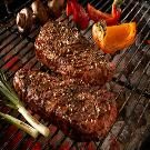 Garden Herb Strip Steaks