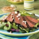 South-of-the-Border Steak Salad with Creamy Taco Dressing
